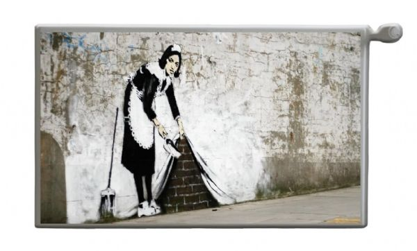 BANKSY Magnetic Radiator Cover